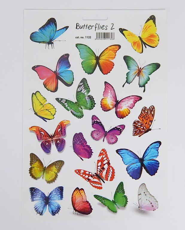 Samolepky Motýli 2 /1132/