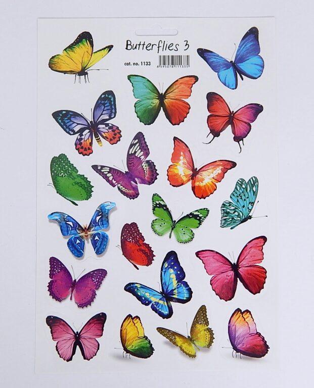 Samolepky Motýli 3 /1133/