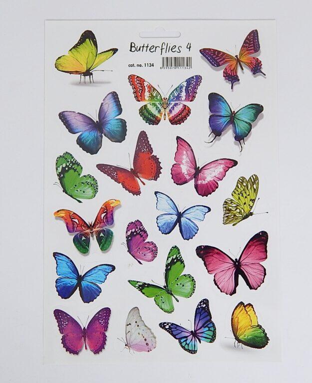 Samolepky Motýli 4 /1134/