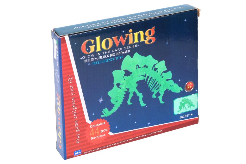 Puzzle 3D Dinosaurus svitící ve tmě / 889604