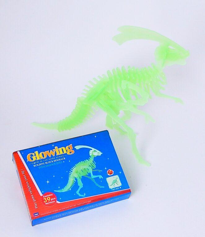 Puzzle 3D Dinosaurus svítící ve tmě / 889602