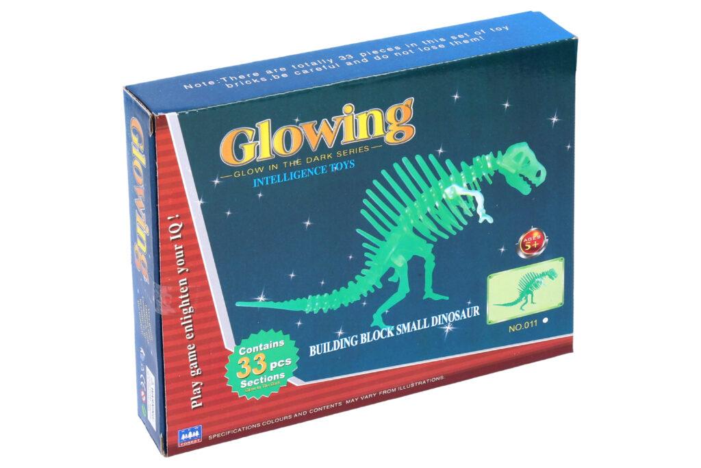 Puzzle 3D Dinosaurus svítící ve tmě / 889601