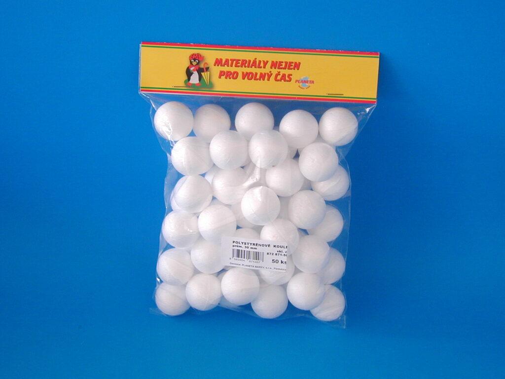 Koule polystyren 50ks/30mm 872871-50