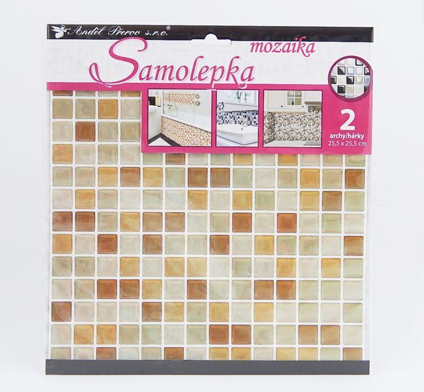 Samolepky pokoj. dekorace Mozaika 2 archy /10203/