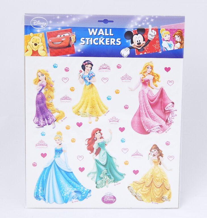 Samolepky pokoj. dekorace Princezny Disney 30x30cm /21080/