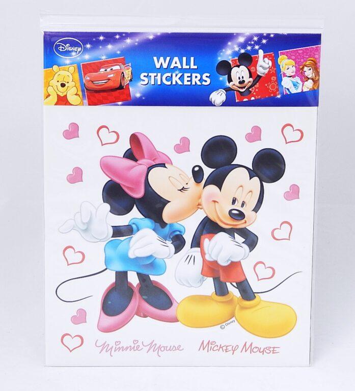 Samolepky pokoj. dekorace Minnie a Mickey Mouse 30x30cm /21085/