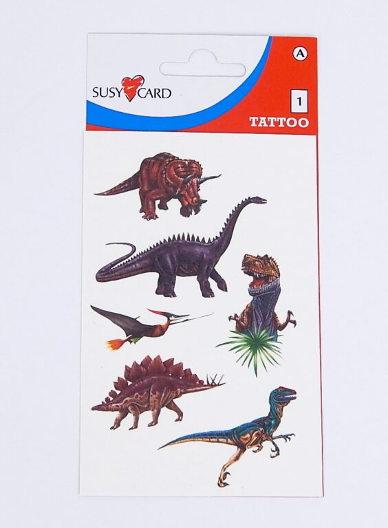 Samolepky tetovací Dino /11258811/