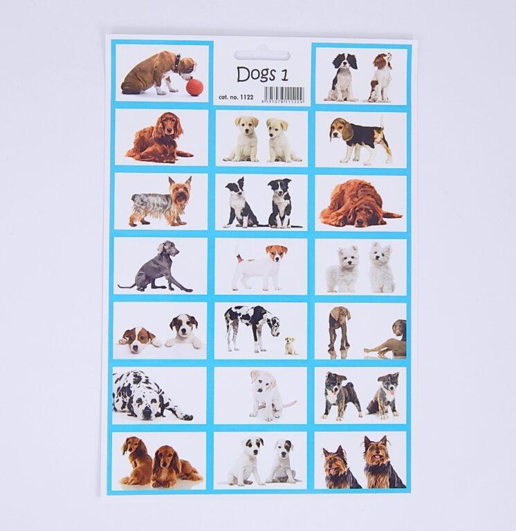 Samolepky Psi  ( 1122 )