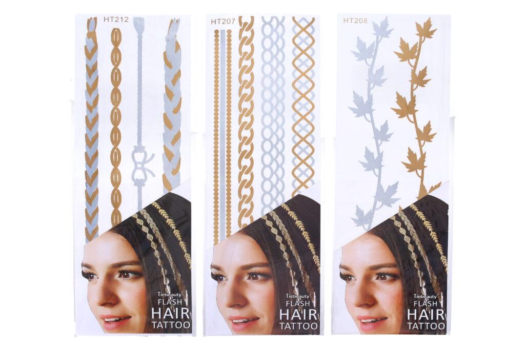 Nálepky do vlasů / 887862