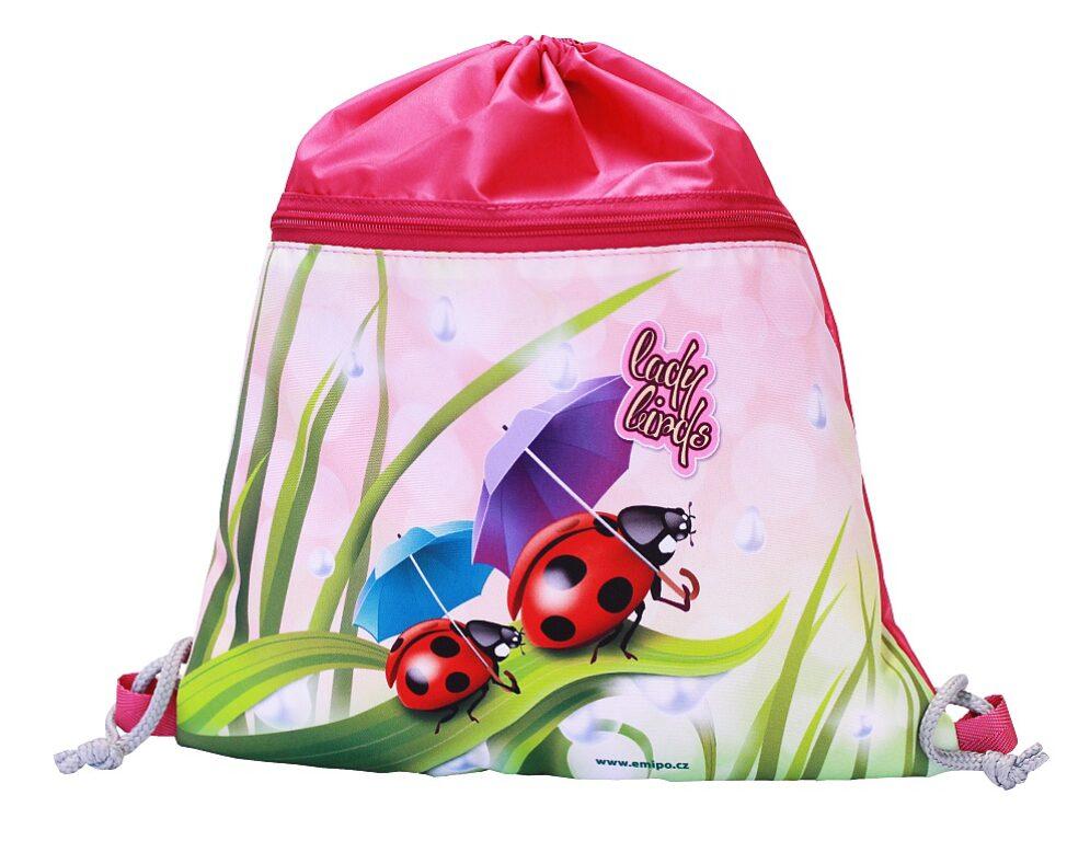 Sáček školní Ladybirds S-5801-2.103