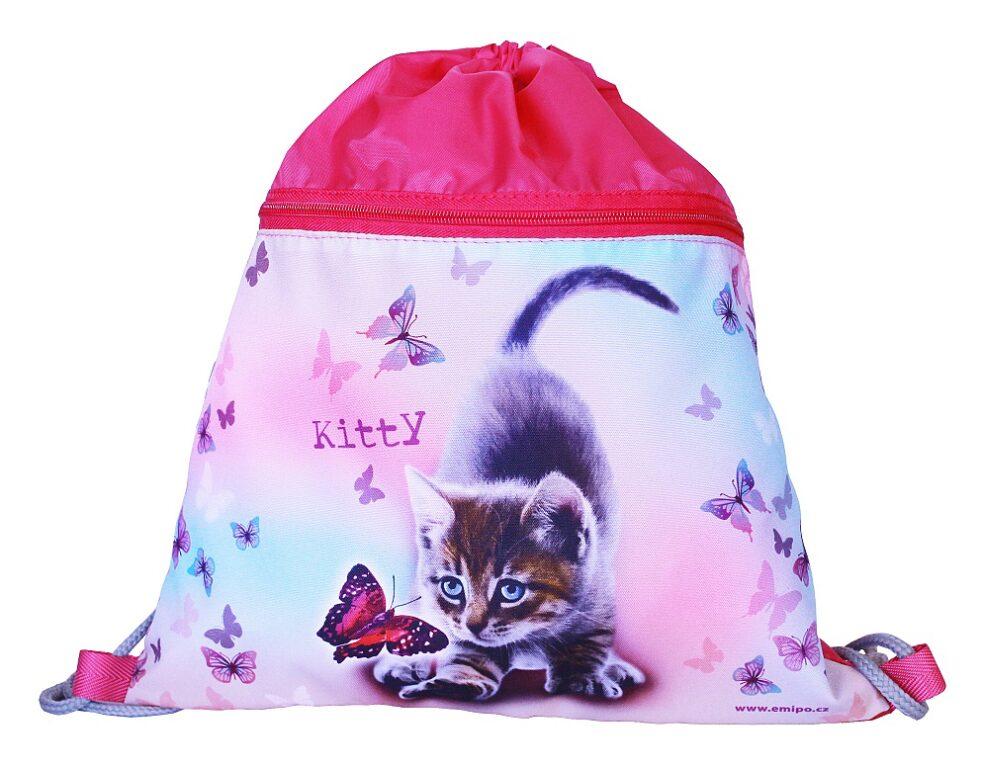 Sáček školní Kitty S-5801-2.104