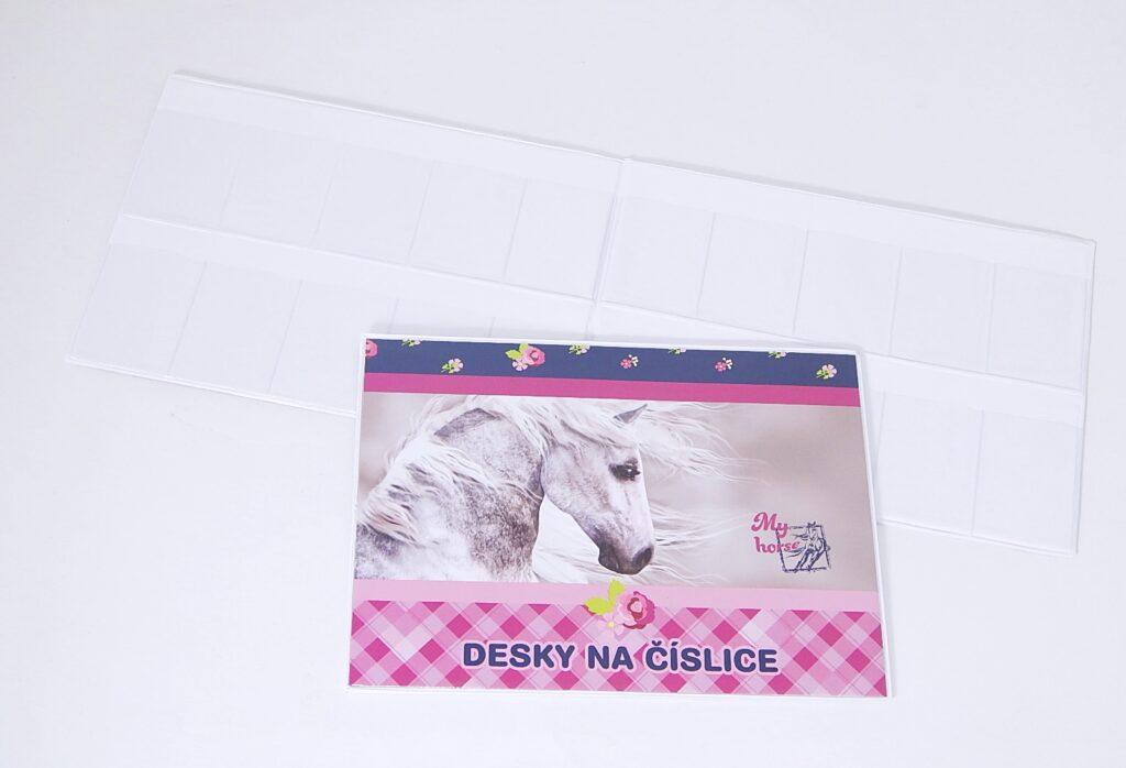 Desky na číslice Junior kůň 3-97517