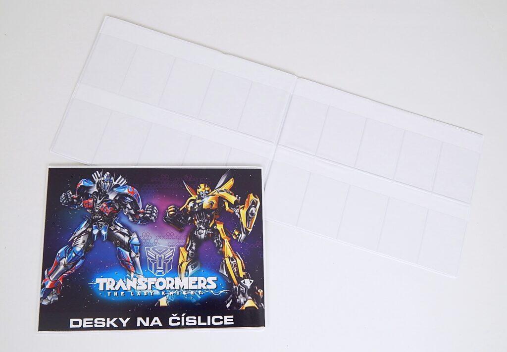Desky na číslice Transformers 3-98317
