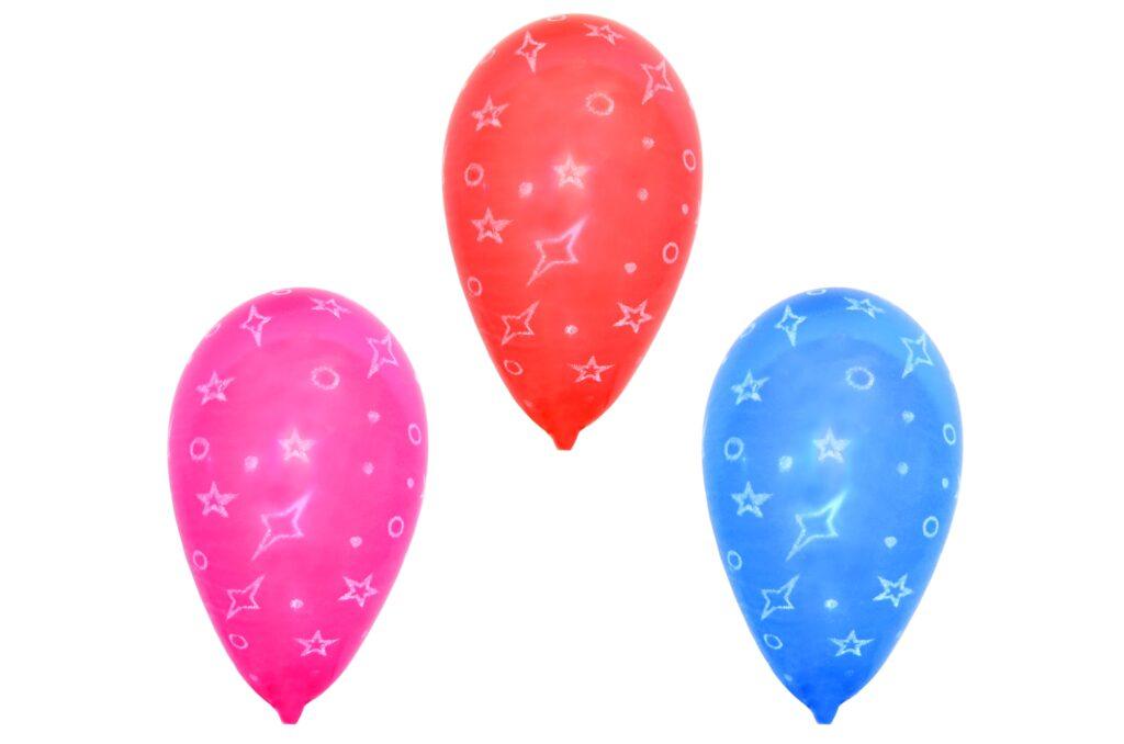 Balonek nafukovací - potisk 10 ks / 886110