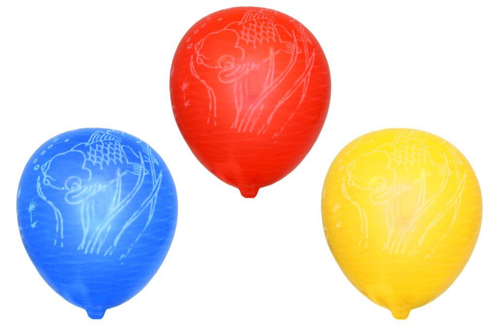 Balonek nafukovací  - potisk 10 ks / 886107
