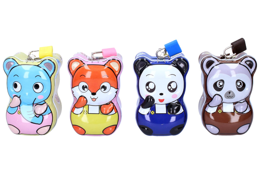 Pokladnička plechová Panda / 887022