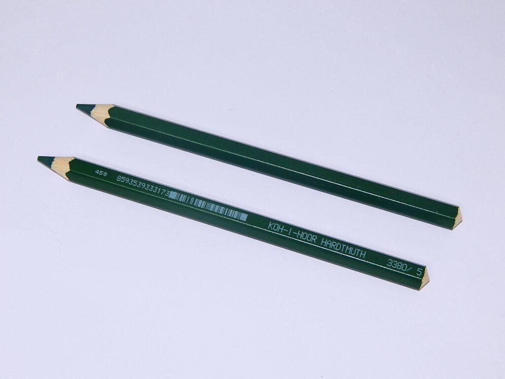 Pastelka 3380/5 zelená tmavá OK 10