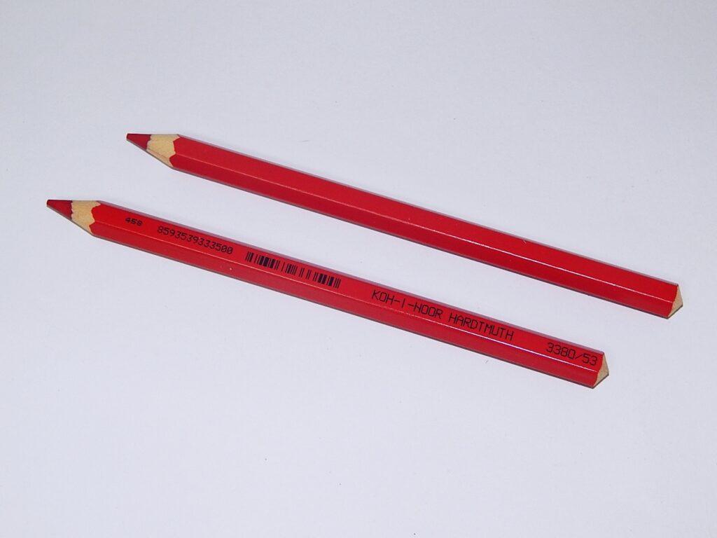 Pastelka 3380/53 červená OK 10