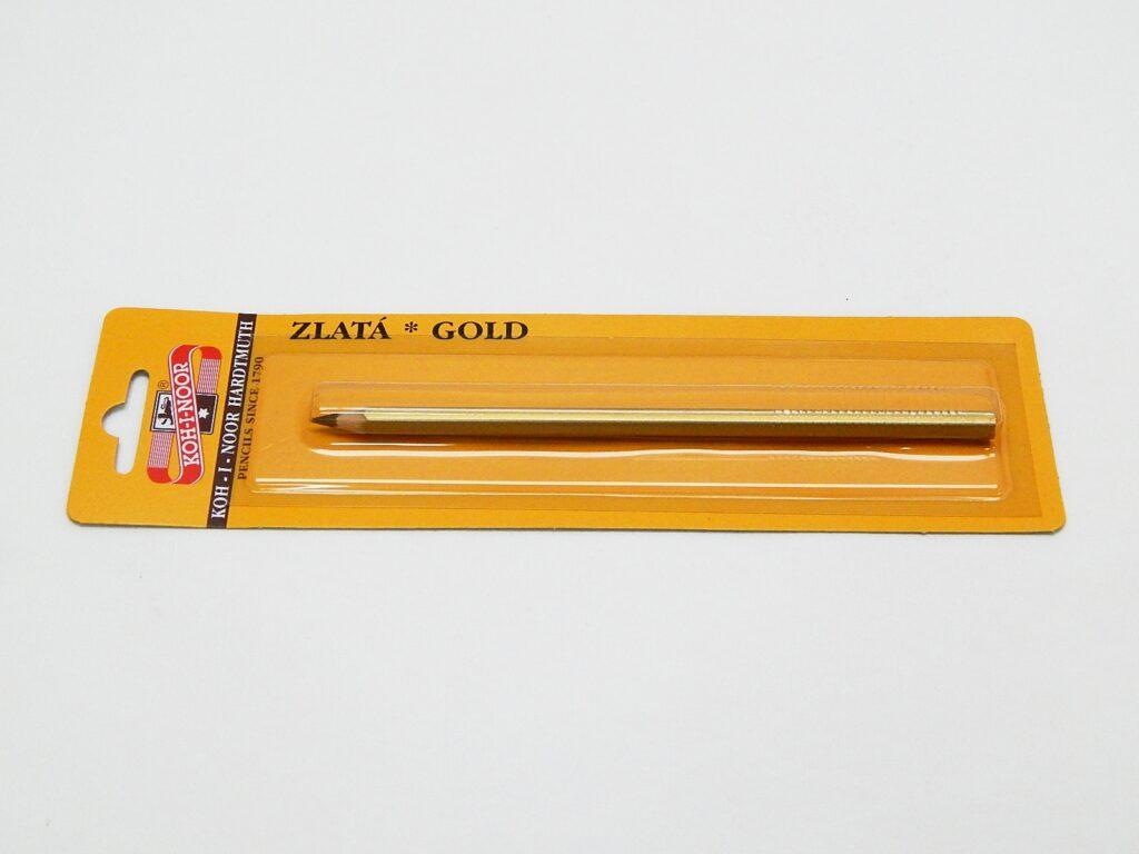 Tužka 3680/40 zlatá na blistru