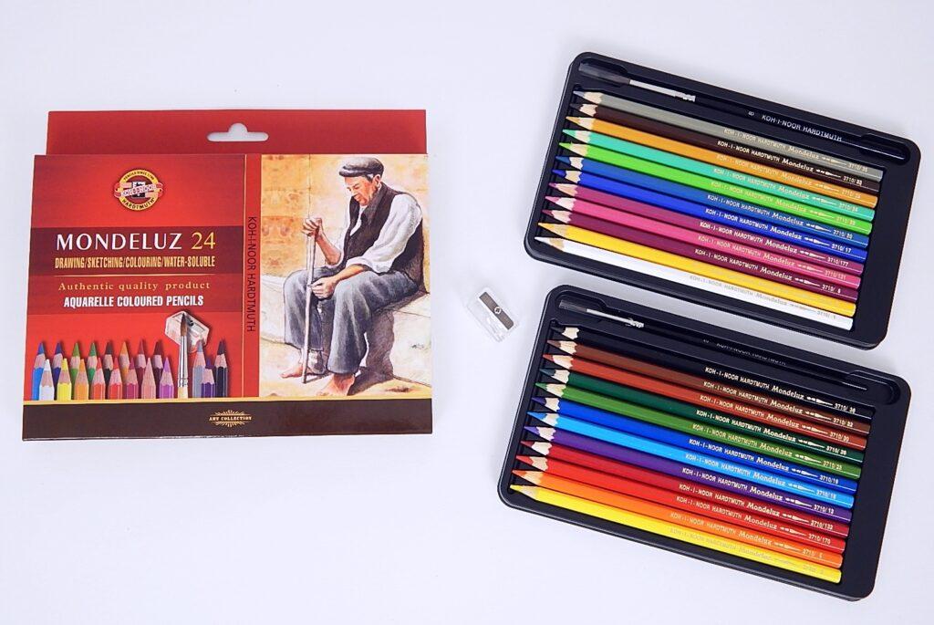 Akvarelové pastelky 3711 24 ks