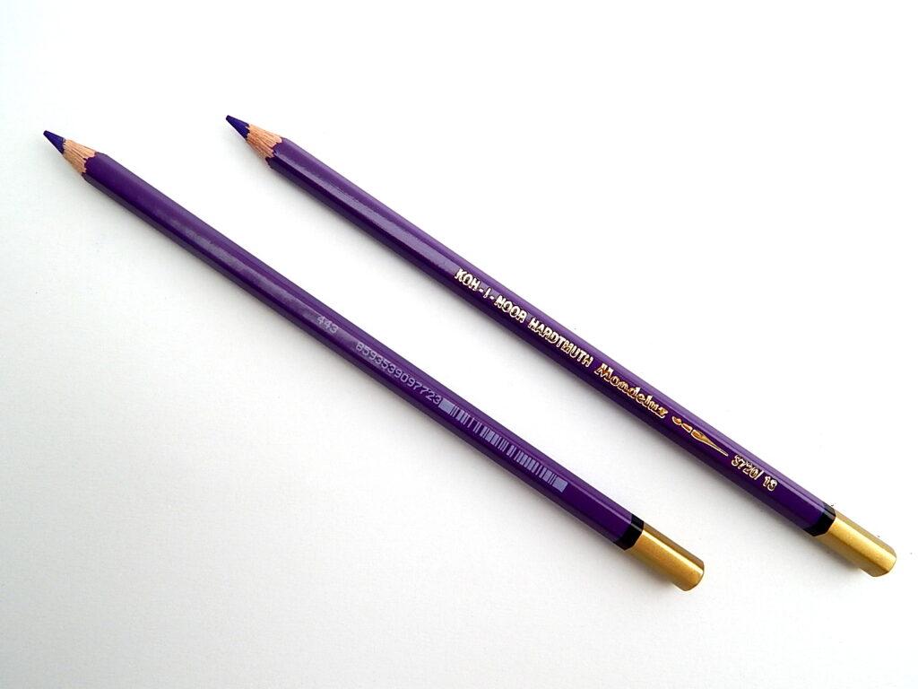 Pastelka 3720/13 fialová OK7 akvarelová