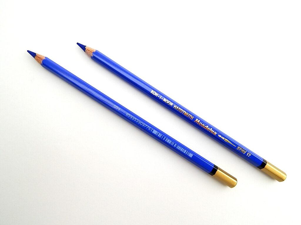 Pastelka 3720/17 kobaltová modř akvarelo