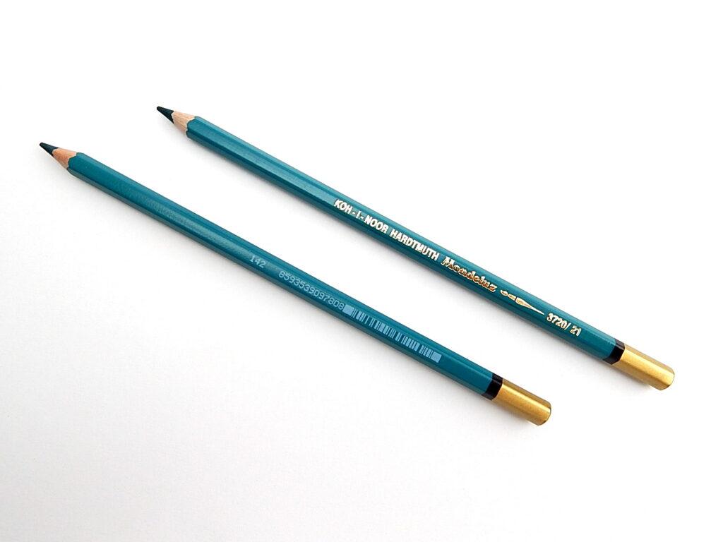 Pastelka 3720/21 modrozelená akvarelová