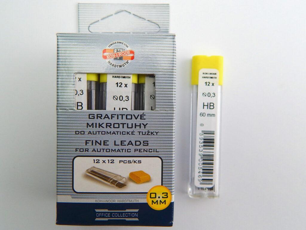 Tuhy 4132 HB pr.0,3mm grafitové