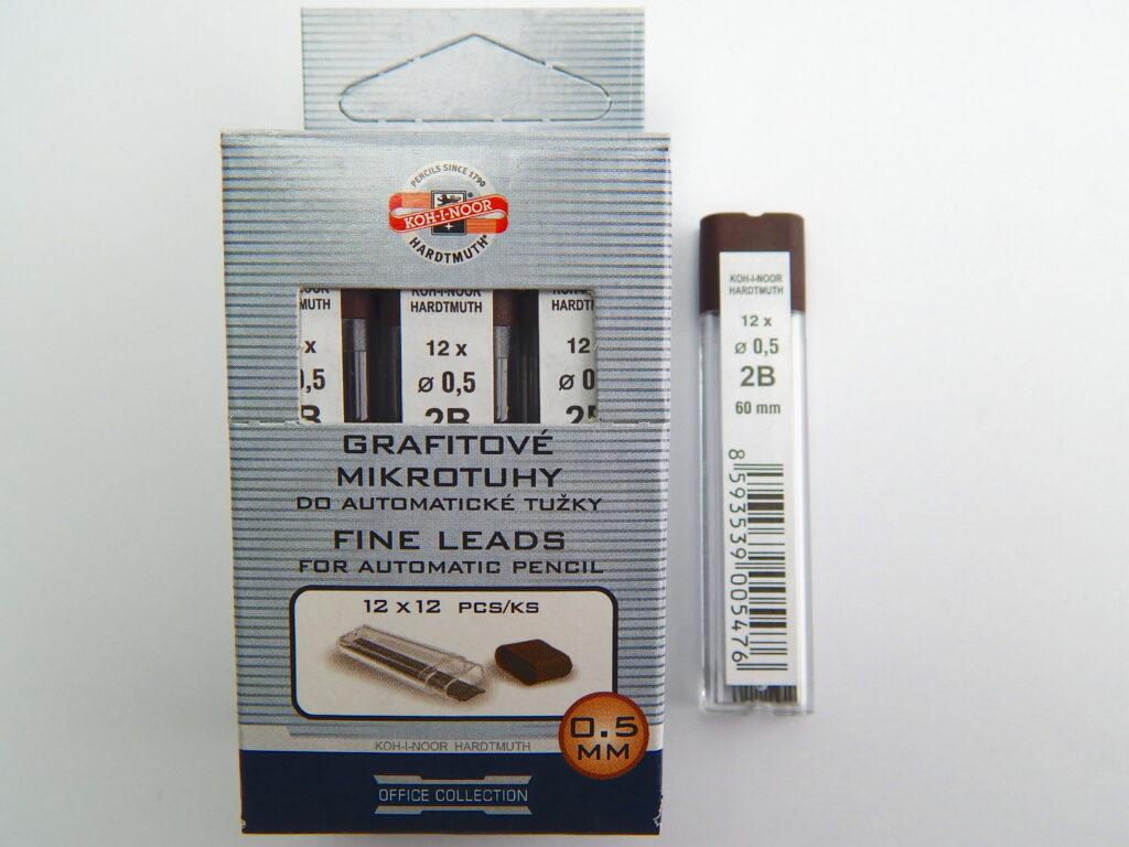 Tuhy 4152 2B pr.0,5mm grafitové