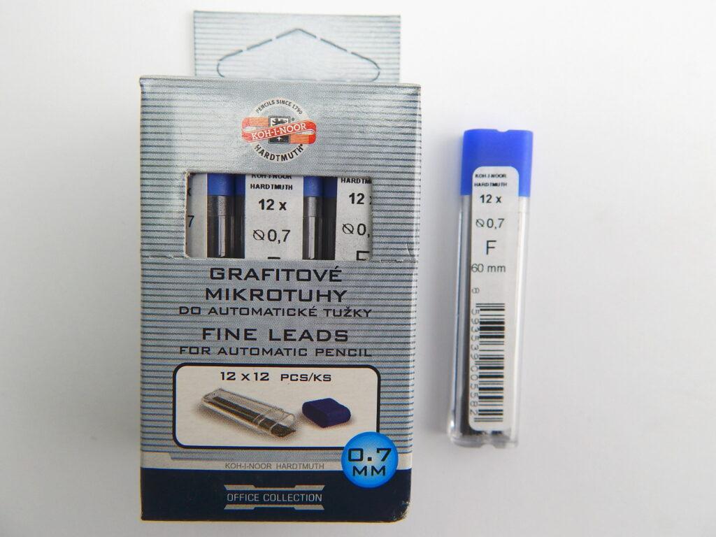 Tuhy 4162 F pr.0,7mm grafitové