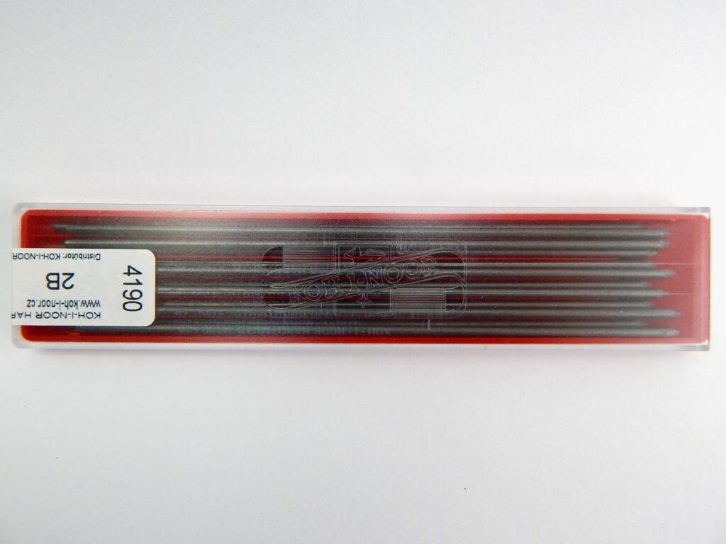 Tuhy 4190 2B pr.2mm   graf.technické