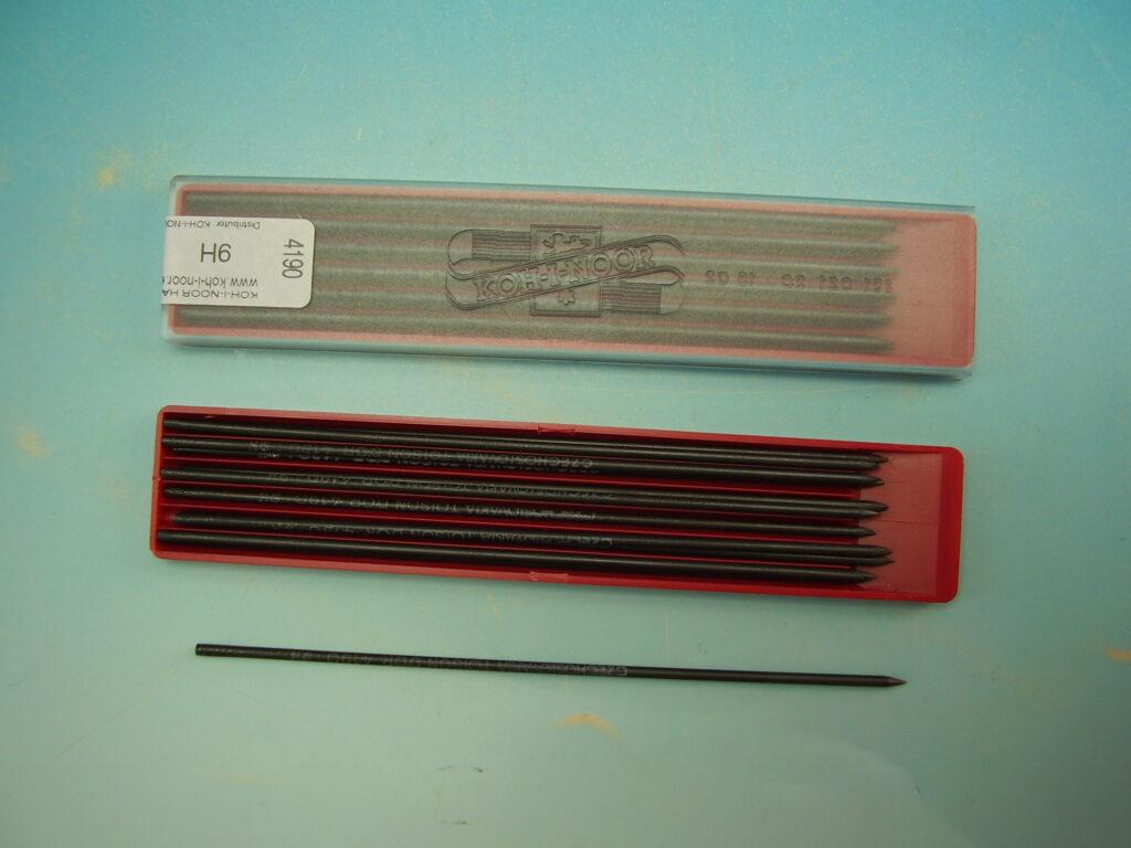 Tuhy 4190 9H pr.2mm graf.technická