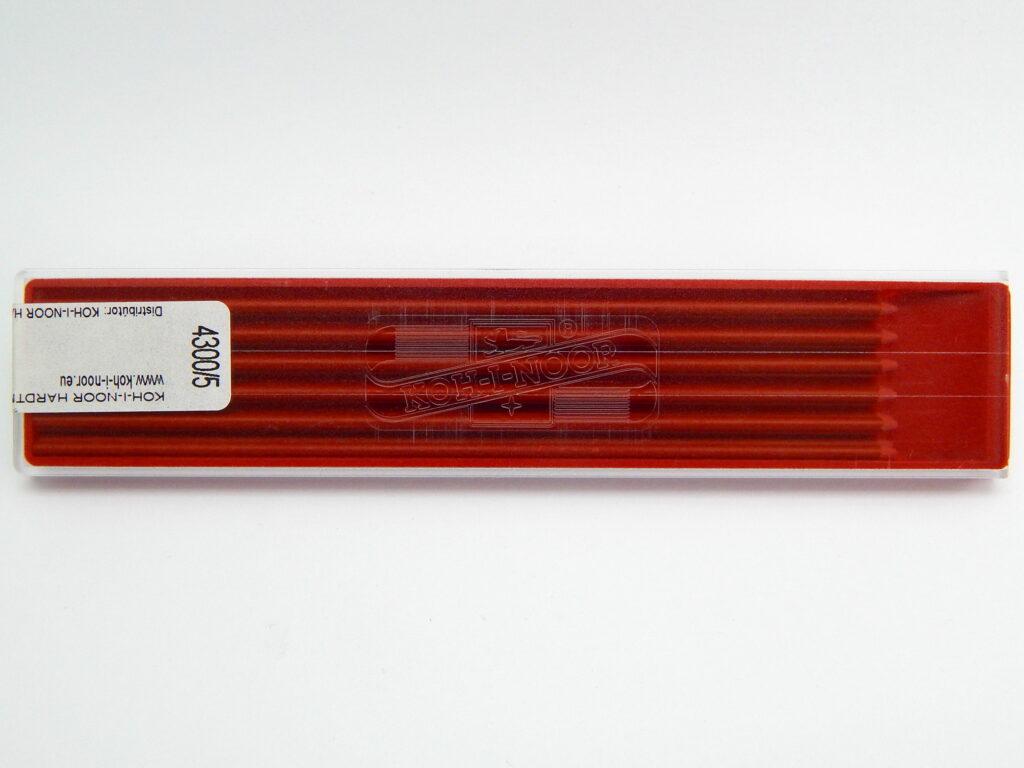Tuhy 4300/5 červené do versatilky