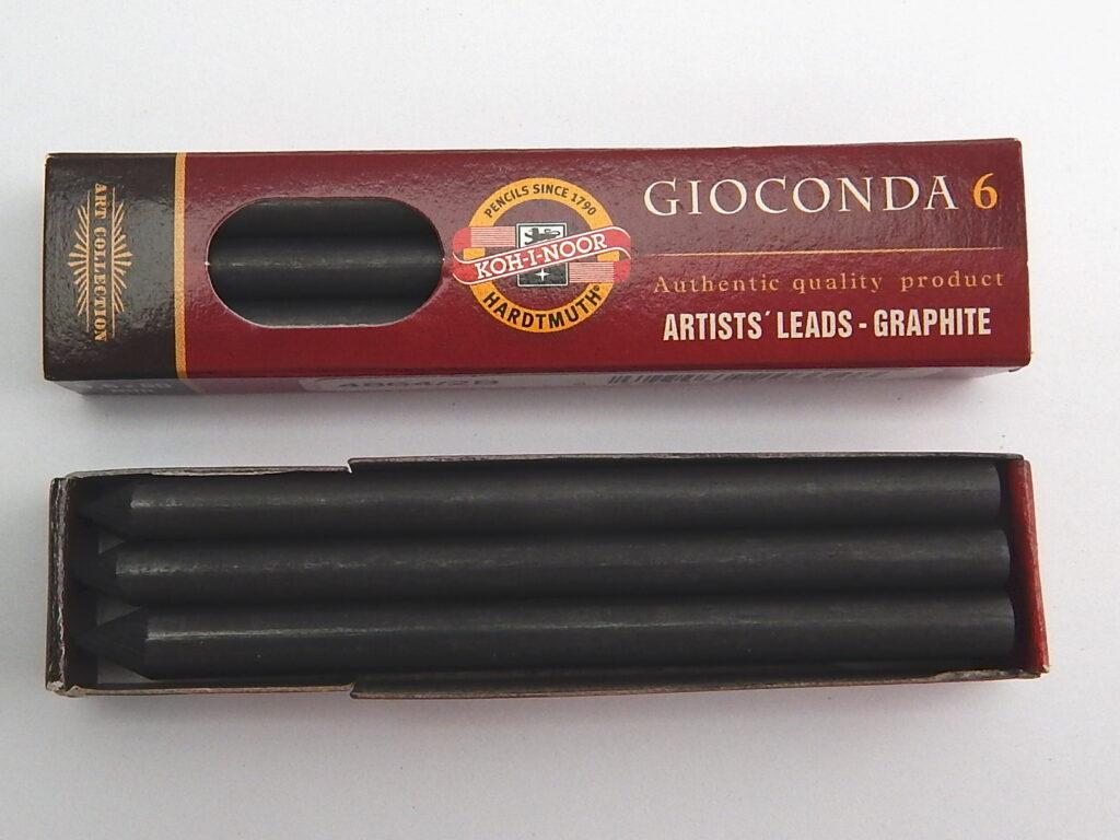 Tuhy 4864 2B pr.5,6mm grafitové 80 mm délka