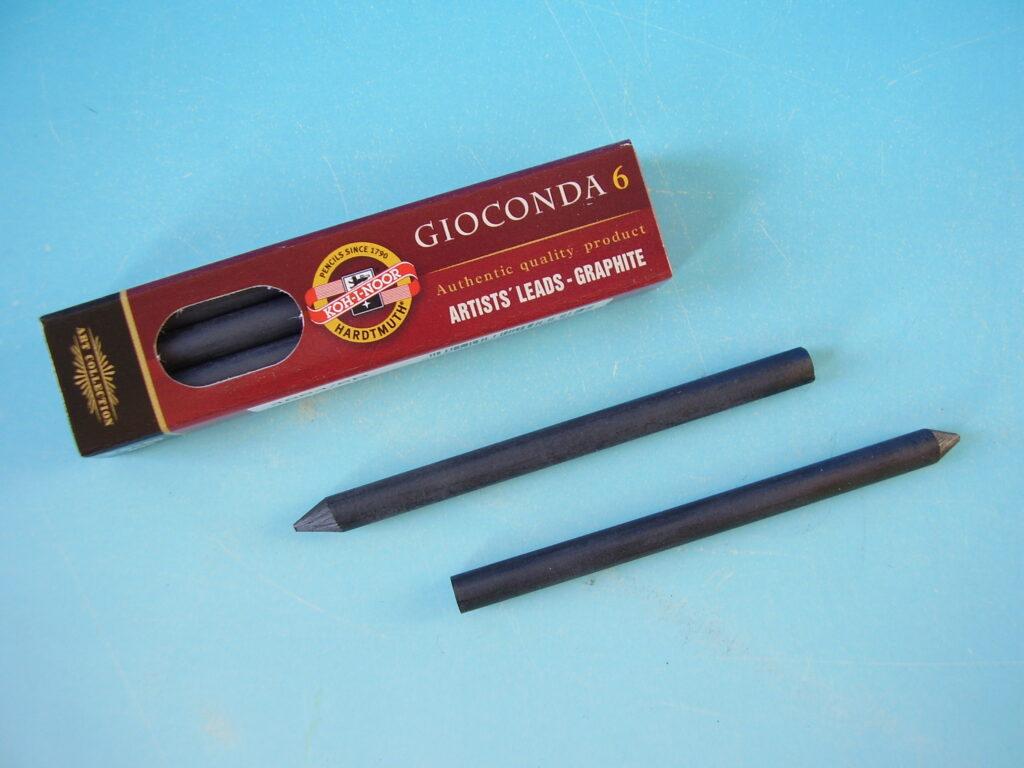 Tuhy 4864 6B pr.5,6mm grafitové 80 mm délka