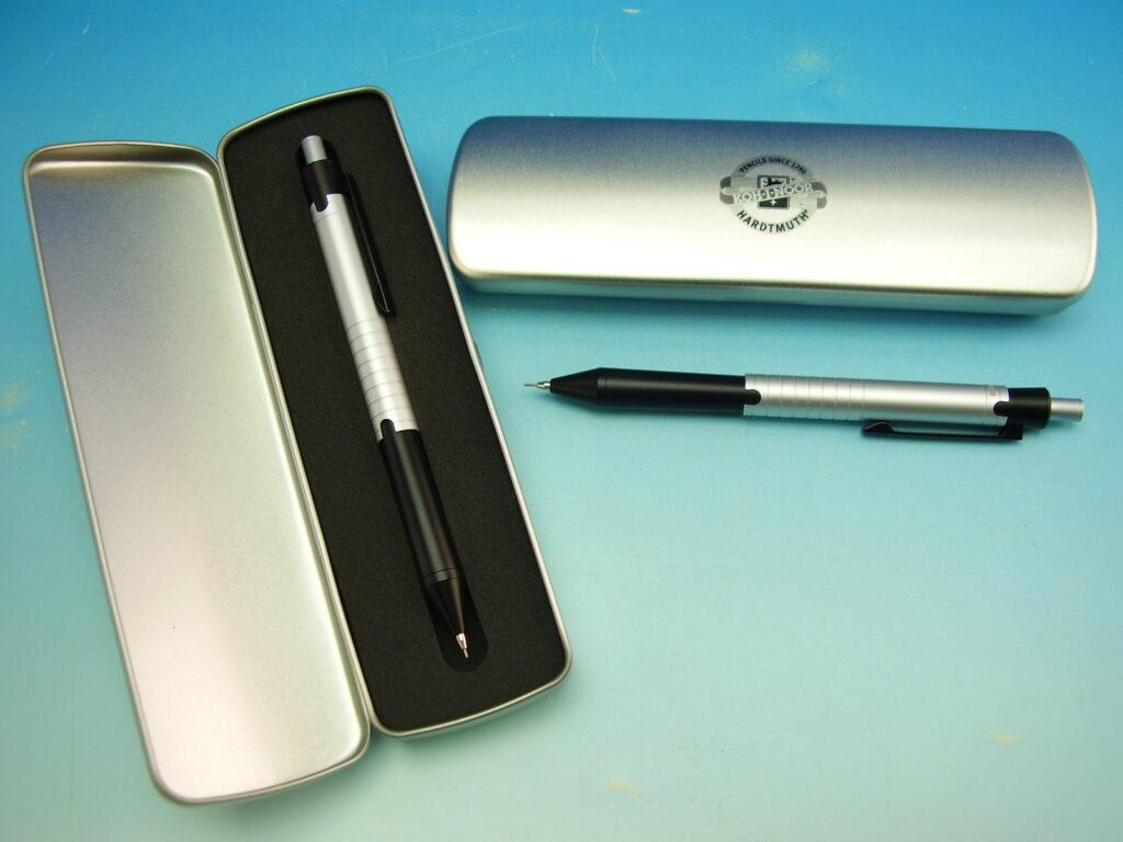 tužka automatická 5781 0,7 stříbrno černá
