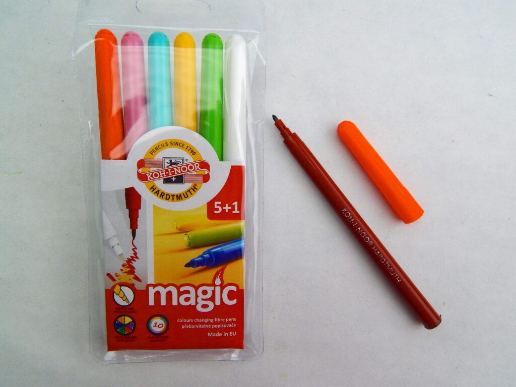 souprava 1612 přebarvitelných popisovačů Magic 5+1