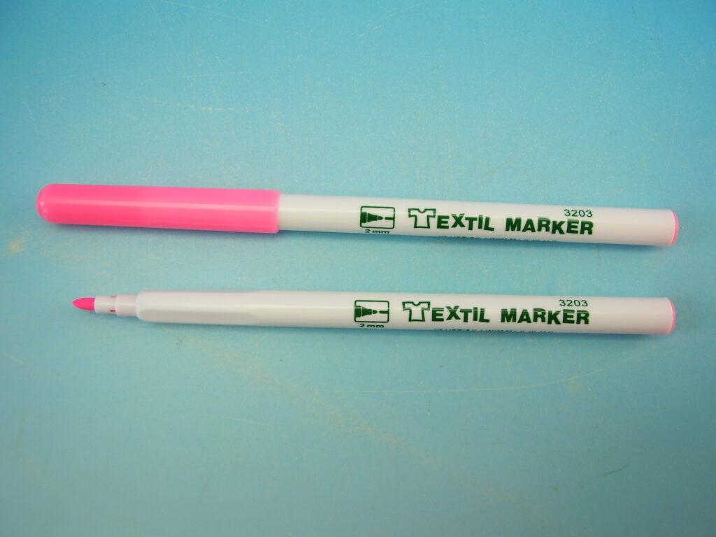 značkovač na textil 3203 fluo růžový
