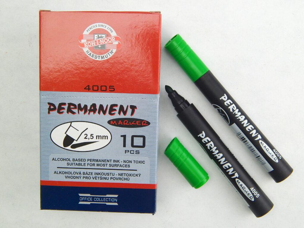 popisovač permanent 4005 zelený