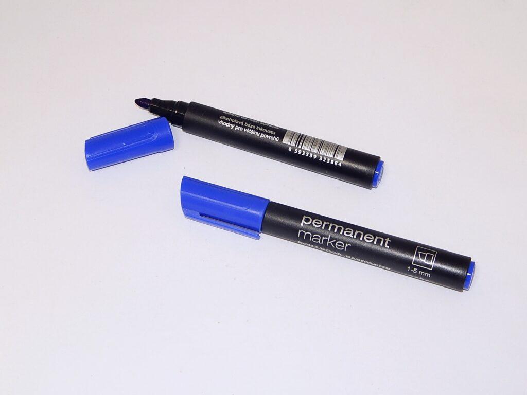 popisovač permanent 4006 modrý