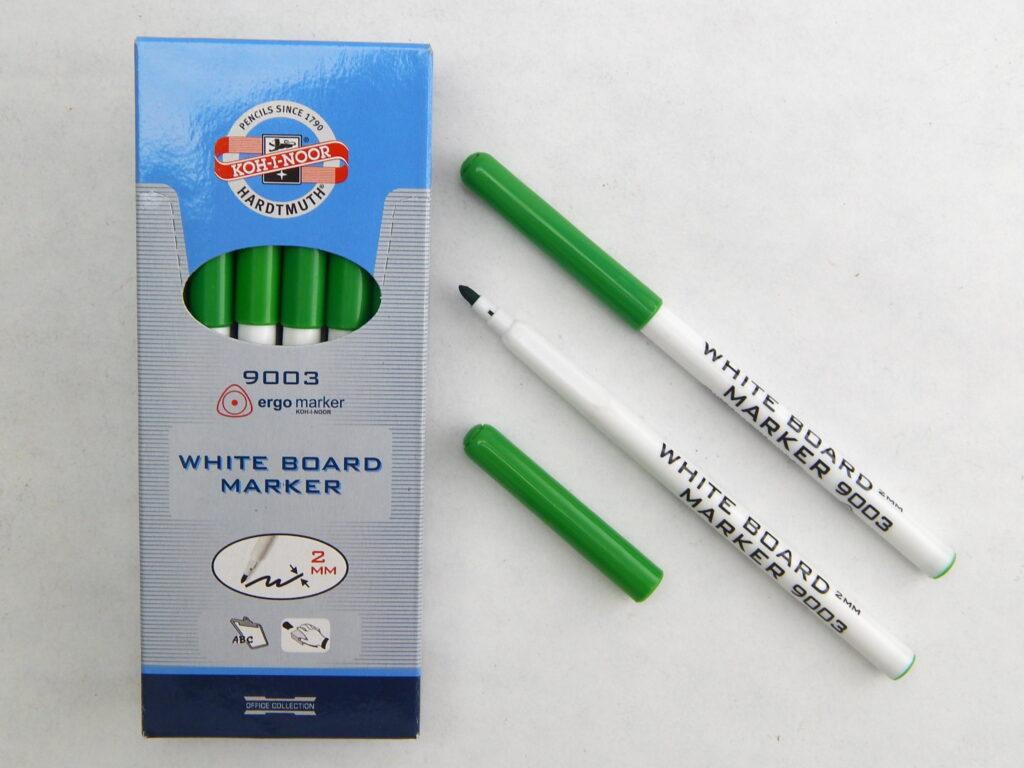 popisovač white board 9003 zelený