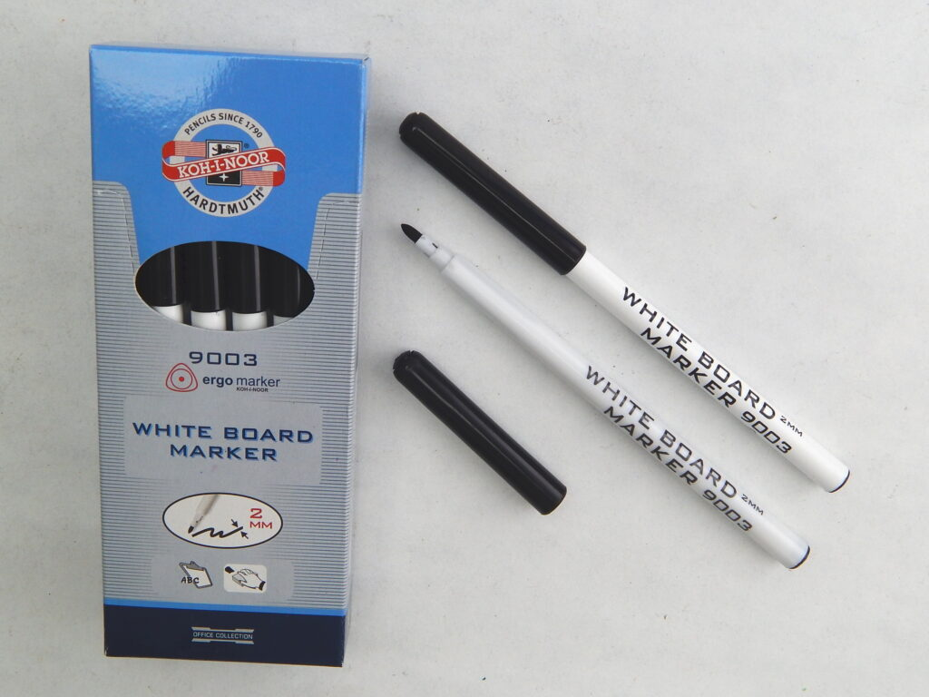 popisovač white board 9003 černý