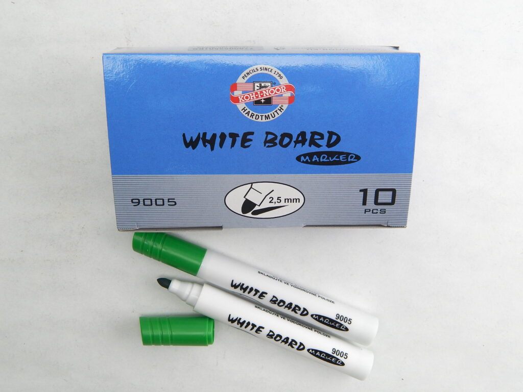 popisovač white board 9005 zelený