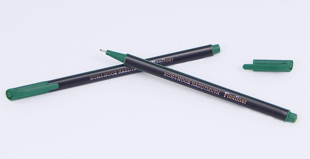 popisovač fine liner 7805 0,7 zelený