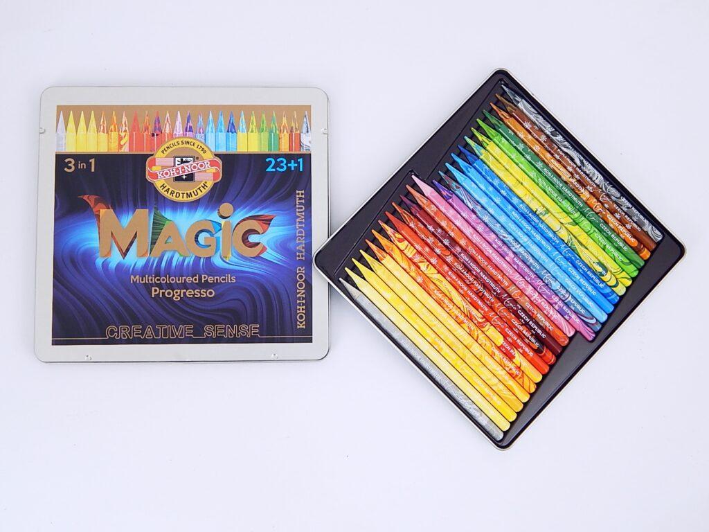 souprava tužek pastelových v laku MAGIC 8774 24