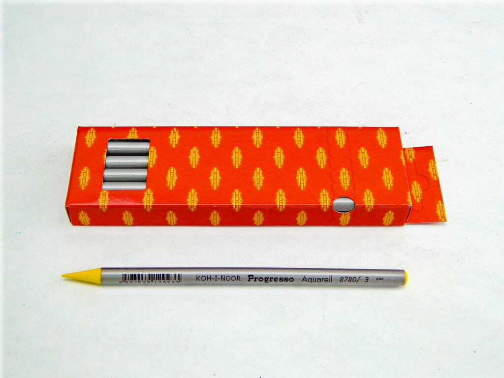 Umělecké akvarelové progresso 8780/03 žluť chromová
