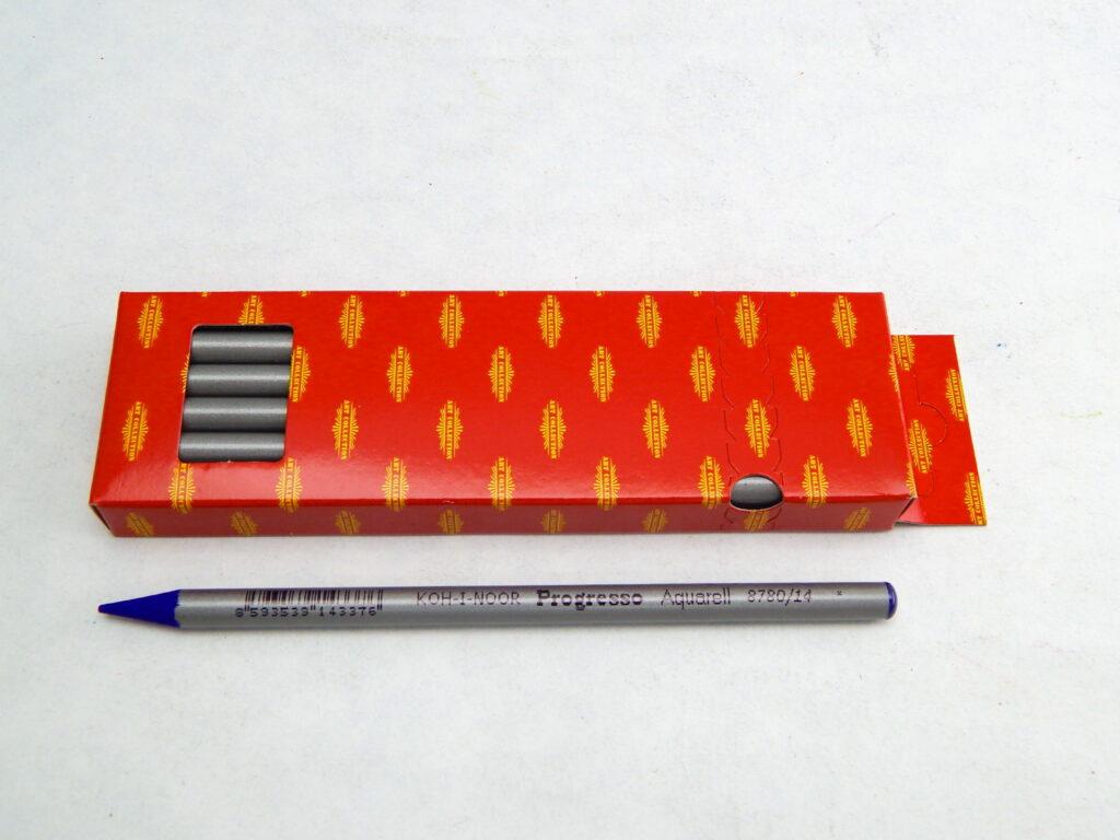 Umělecké akvarelové progresso 8780/14 fialová modravá