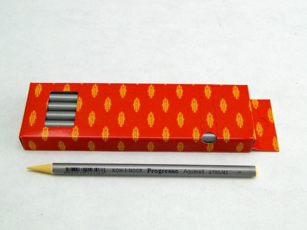 Umělecké akvarelové progresso 8780/41 žluť banánová