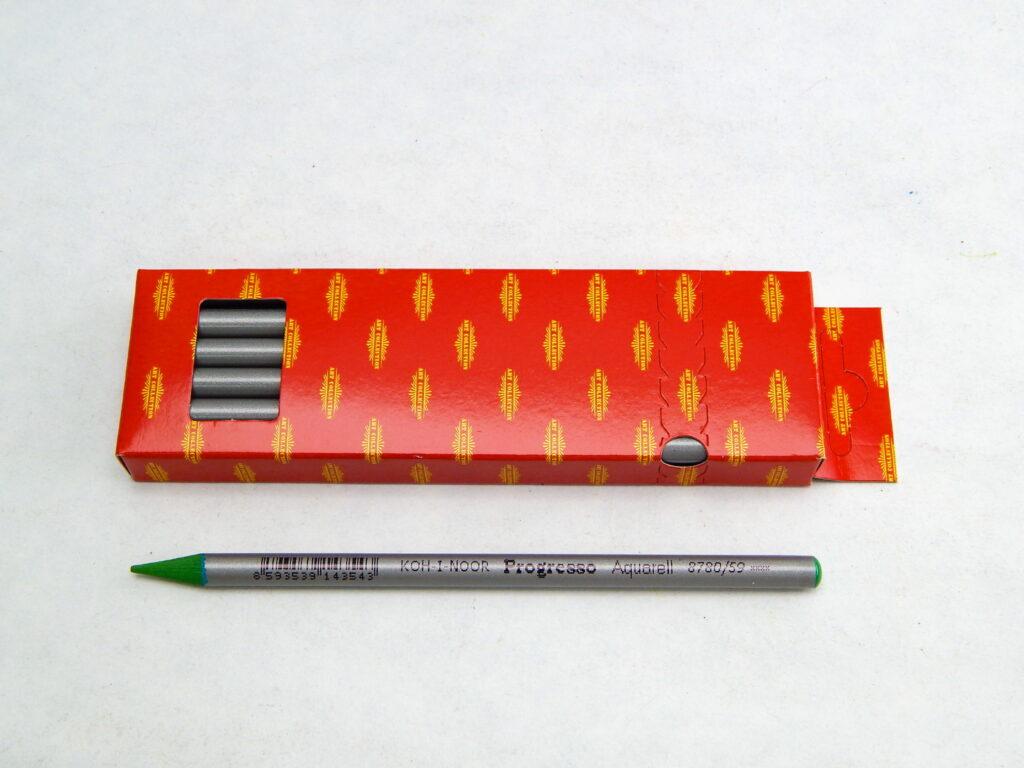Umělecké akvarelové progresso 8780/59 zeleň trávní