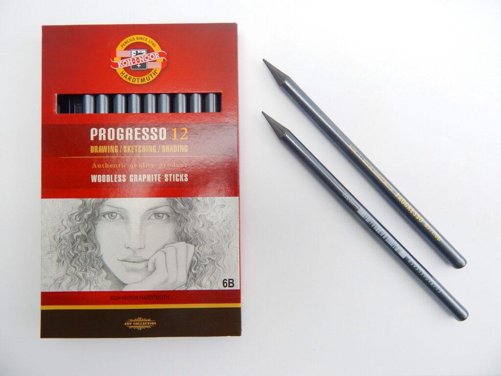 Tužka 8911 6B grafitová v laku PROGRESSO